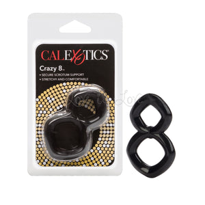 CalExotics Crazy 8 Cock Ring Black buy in Singapore LoveisLove U4ria