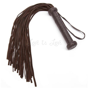Coco de Mer Brown Leather Flogger buy in singapore LoveisLove U4ria