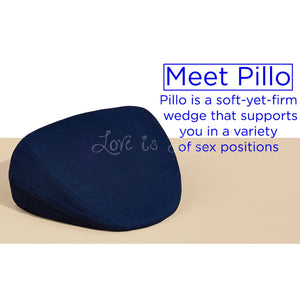 Dame Products Pillo Pillow For Sex Indigo Buy in Singapore LoveisLove U4ria