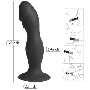Easytoys Silicone Pleaser Anal Dildo with Suction Cup buy in Singapore LoveisLove U4ria
