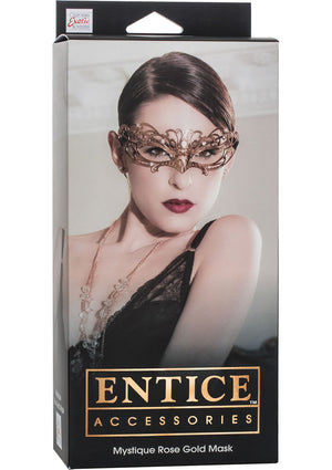 Entice Mystique Rose Gold Mask (Last Piece at Peninsula Plaza Branch)