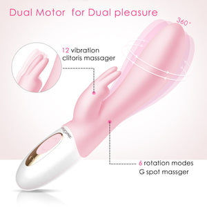 Erocome Hydra Heat Rotating Rabbit Vibrator Buy in Singapore LoveisLove U4Ria