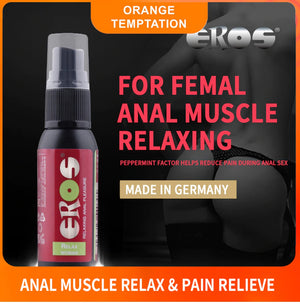 Eros Relax Woman 30 ml (1.02 fl oz) (Popular Relaxing Anal Pleasure For Women)(Exp Year 2024)