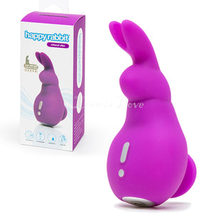 Happy Rabbit Mini Ears Clitoral Vibrator Purple Buy in Singapore LoveisLove U4ria