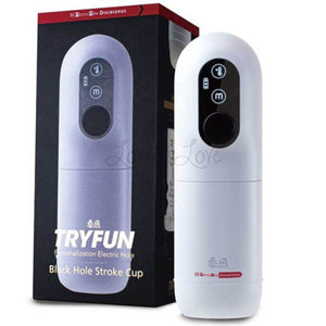 Japan Men's Max Tryfun Black Hole Stroke Cup Electric Hole Machine With Heating Mode Buy in Singapore LoveisLove U4Ria
