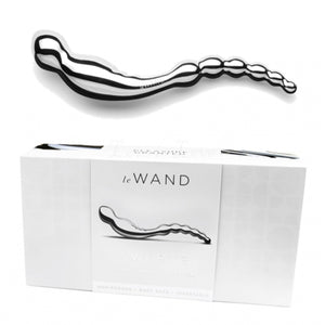 Le Wand Stainless Steel Swerve Double-Ended Pleasure Massager Buy in Singapore LoveisLove U4Ria