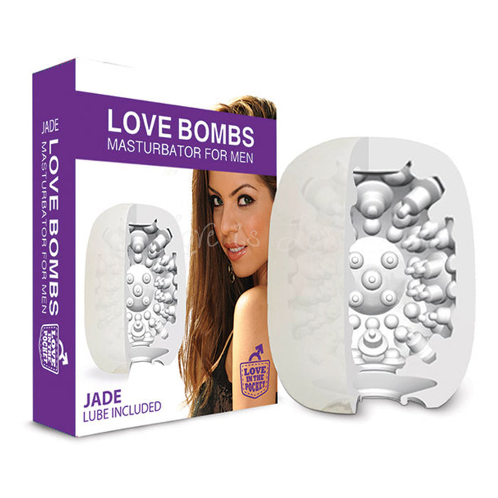 Love In The Pocket Love Bombs Masturbator For Men Jade