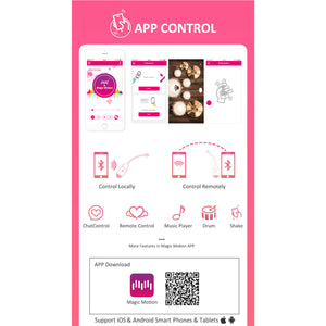 Magic Motion Vini App Controlled Love Egg Pink Buy in Singapore LoveisLove U4ria