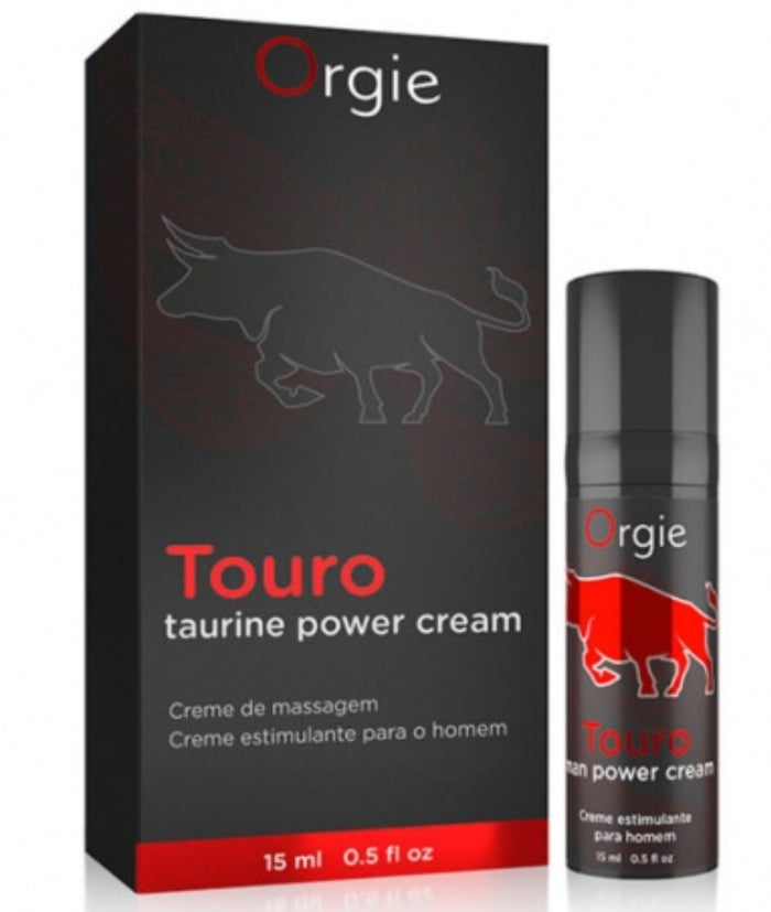 Orgie Touro Taurine Power Cream 15ml 0.5 fl oz (New Packaging)(Limited Stock)
