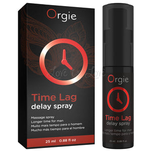 Orgie Time Lag Delay Spray 25 ML 0.88 FL OZ Buy in Singapore LoveisLove U4ria