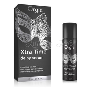 Orgie Xtra Time Delay Serum 15 ml 0.5 FL OZ Buy in Singapore U4ria LoveisLove