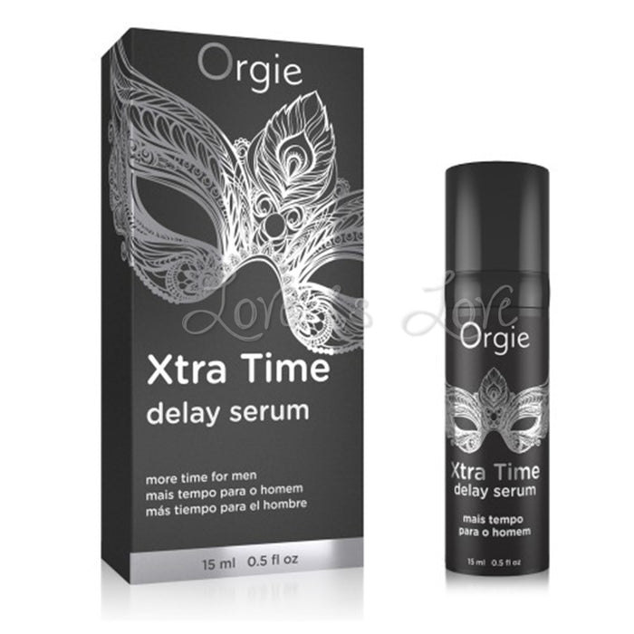 Orgie Xtra Time Delay Serum 15 ml 0.5 FL OZ