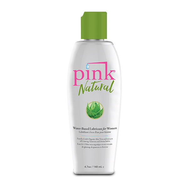 Pink Natural Water Based Lubricant 140 ML 4.7 FL OZ