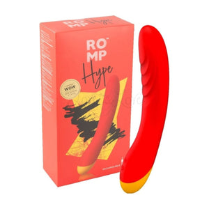 ROMP Hype G-Spot Vibrator Red buy in Singapore LoveisLove U4ria