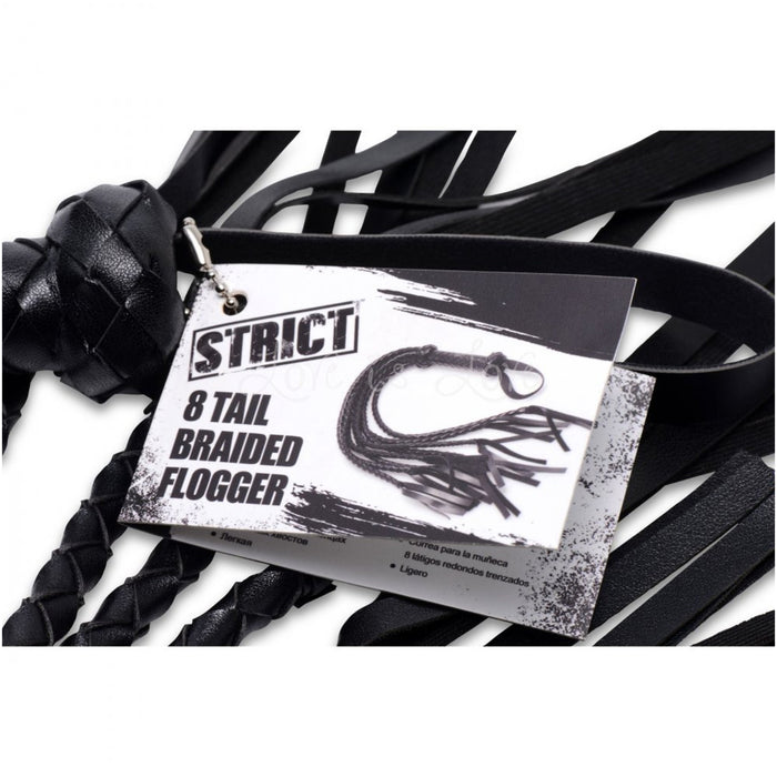 STRICT 8 Tail Braided Flogger