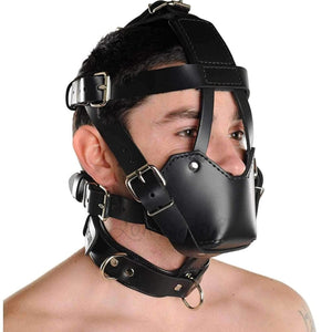 Strict Leather Padded Muzzle Buy in Singapore LoveizLove U4Ria