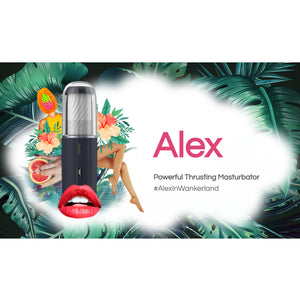 Svakom Alex Powerful 7 Intense Auto-Thrusting Masturbator (Authorized Agent)
