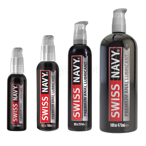 Swiss Navy Premium Silicone Anal Lubricant Lubes & Toy Cleaners - Anal Lubes & Creams Swiss Navy