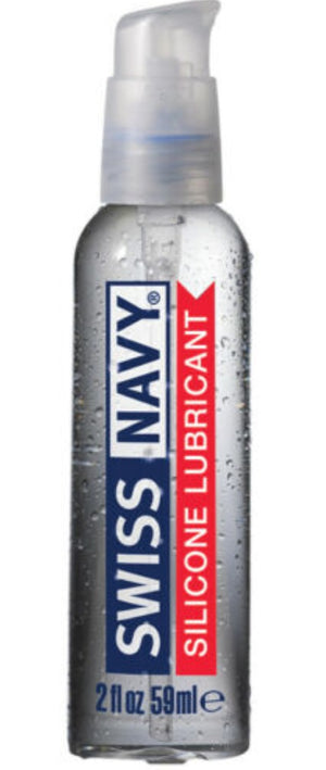 Swiss Navy Silicone Based Lubricant  2 oz or 4 oz or 8 oz or 16 oz or 32 oz (Newly Restocked Sale)