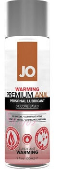 System JO Premium Anal Silicone Lubricant Warming 60 ML 2 FL OZ (New Packaging)
