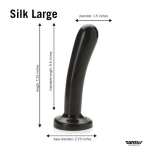 Tantus Bend Over Intermediate Strap On Set Black or Purple (In Brand New Packaging)(Limited Stock)