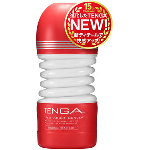 Tenga Rolling Head Cup (Tenga All New Cup Series on Sep 20) Buy in Singapore LoveisLove U4Ria
