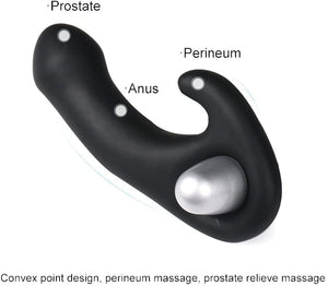 Topco Bottoms Up Please My P-Spot Silicone Vibrator LoveisLove U4Ria Singapore