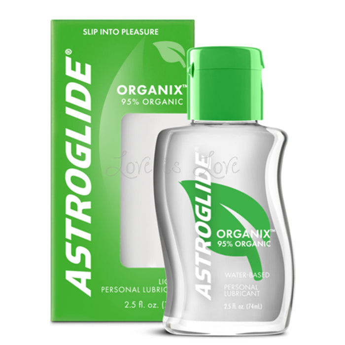 Astroglide Organix Water Based Lubricant 74 ml 2.5 fl oz ( New Packaging )
