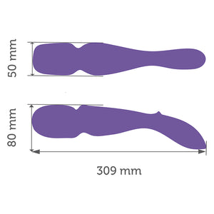 We-Vibe The Wand Purple (App Remote Control)(Authorized Retailer)