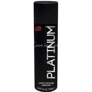 Wet Platinum Silicone Based Personal Lubricant 89 ml 3.0 fl oz  Buy in Singapore LoveisLove U4Ria