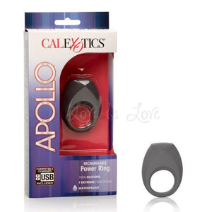 Apollo Rechargeable Power Ring Cock Rings - Rechargeable Cock Rings Apollo by CalExotics