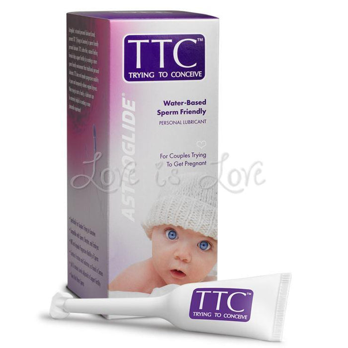 Astroglide TTC Trying to Conceive Sperm-Friendly Personal Lubricant 1.4 FL OZ 5 ML