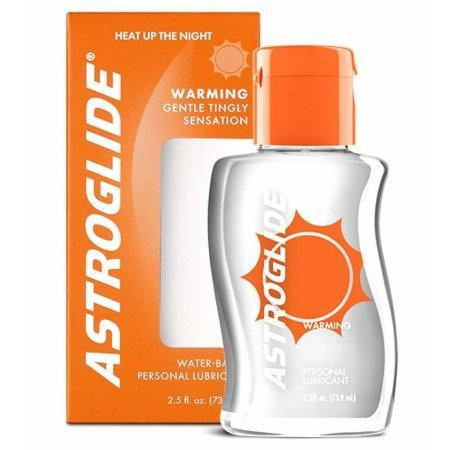 Astroglide Warming Water Based Lubricant 73.9 ml 2.5 fl oz (New Packaging)
