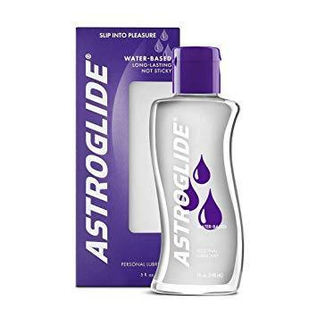 Astroglide Water-based Lubricant 2.5 oz or 5 oz (New Packaging - Newly Replenished)