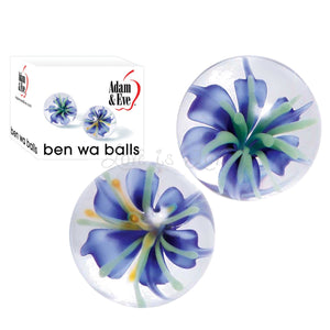 Adam & Eve Glass Ben Wa Balls Clear buy in Singapore LoveisLove U4ria