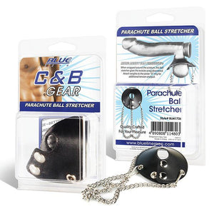 Blueline C&B Gear Parachute Ball Stretcher Bondage - Cock & Ball Gear Electric Eel Inc