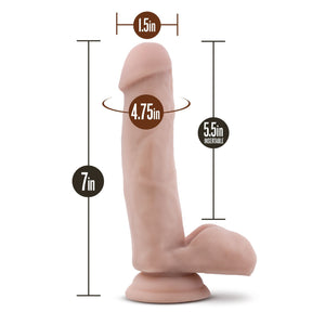 Blush Novelties Loverboy The Pool Boy Dildos - Suction Cup Dildos Blush Novelties