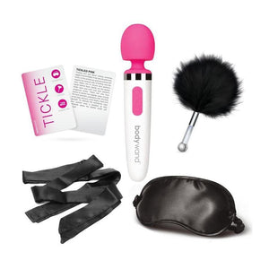 Bodywand 5 Piece Tickle, Tease And Please Card Game Set Vibrators - Wands & Attachments The Bodywand