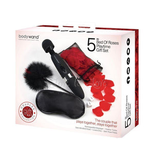Bodywand Bed Of Roses Playtime Gift Set 5 Piece Vibrators - Wands & Attachments The Bodywand