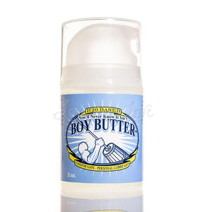 Boy Butter H2O Based Lubricant Pump Bottle 2 FL OZ (Newly Replenished on Apr 19) Lubes & Toy Cleaners - Water Based Boy Butter