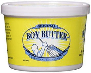 Boy Butter Original Lubricant ( Newly Replenished ) Lubes & Toy Cleaners - Oil Based Boy Butter 473ml 16 FL OZ