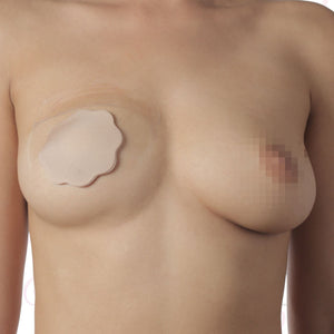 Bye Bra Breast Lift & Silicone Nipple Covers A-C Nude 4 Pairs (Newly Replenished) For Her - Breast Enhancement Bye Bra