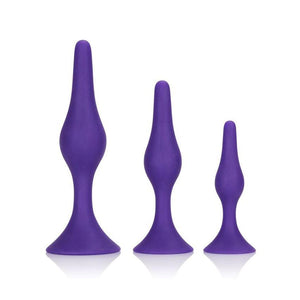 CalExotics Booty Call Booty Trainer Kit Purple ( Newly Replenished on Apr 19) Anal - Anal Trainer Kits CalExotics