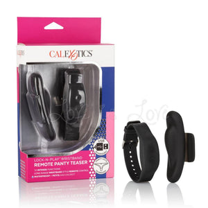 CalExotics Lock-N-Play Wristband Remote Panty Teaser Vibrator Vibrators - Knickers & Wearables CalExotics