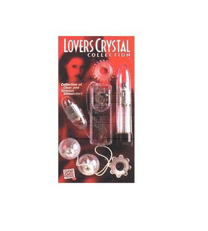 CalExotics Lovers Crystal Collection (Clearance) For Us - Couples Vibrators Calexotics