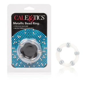 CalExotics Metallic Bead Ring For Him - Cock Rings Calexotics