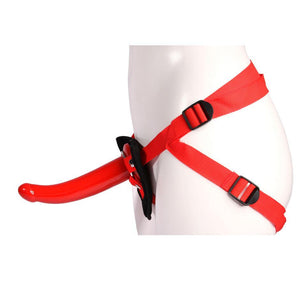CalExotics Red Rider G-Spot Strap On Harness Kit Strap-Ons & Harnesses - Strap-On Kits Calexotics