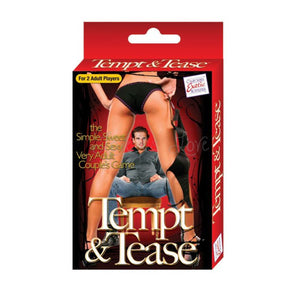 CalExotics Tempt & Tease Card Game Gifts & Games - Intimate Games CalExotics