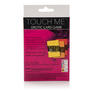 CalExotics Touch Me Erotic Massage Card Game (Just Restocked on Apr 19) Gifts & Games - Intimate Games CalExotics