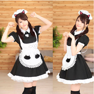 Japan A&T Cat Maid Uniform M Size buy in Singapore LoveisLove U4ria
